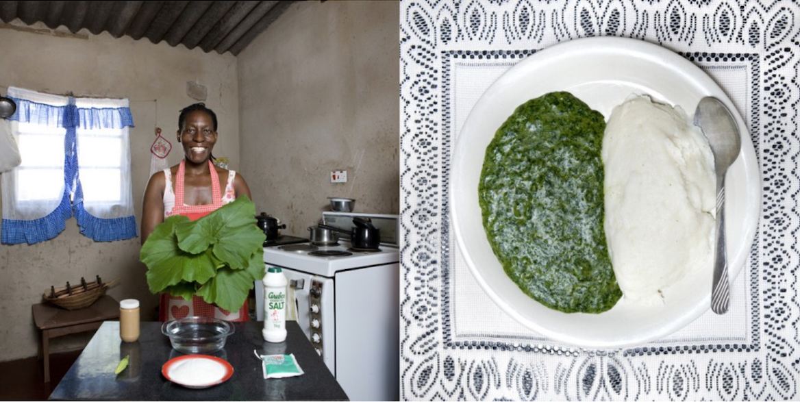Galimberti, nonna cucina, Zimbabwe