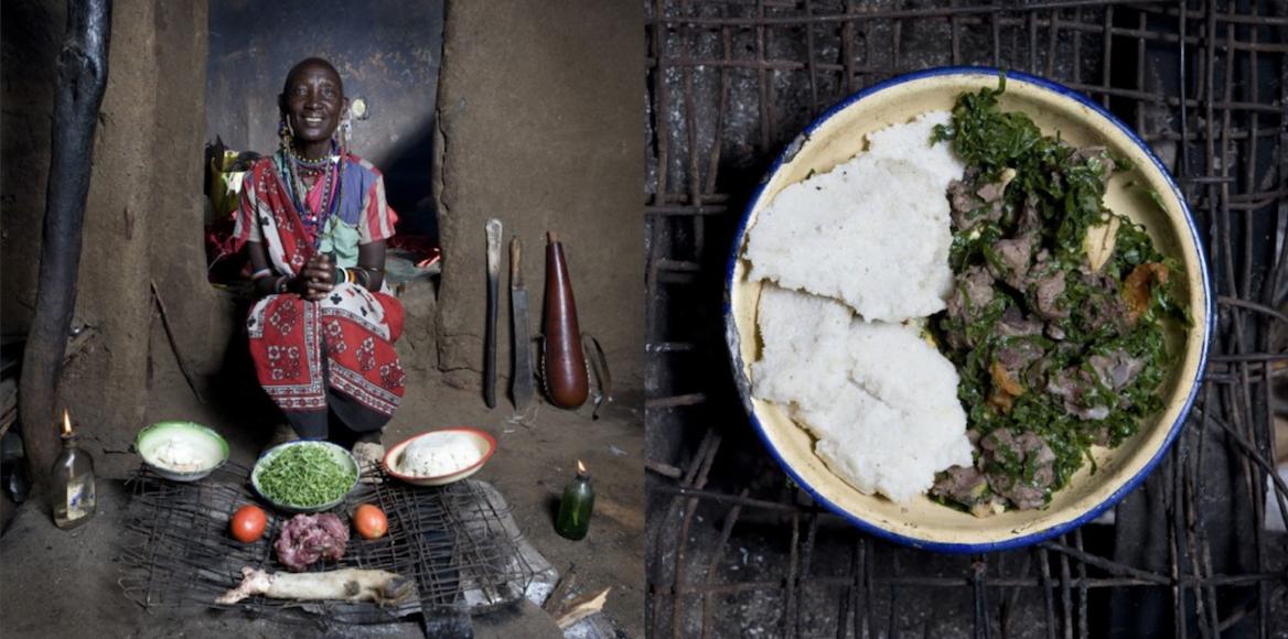 Galimberti, nonna cucina, Kenya