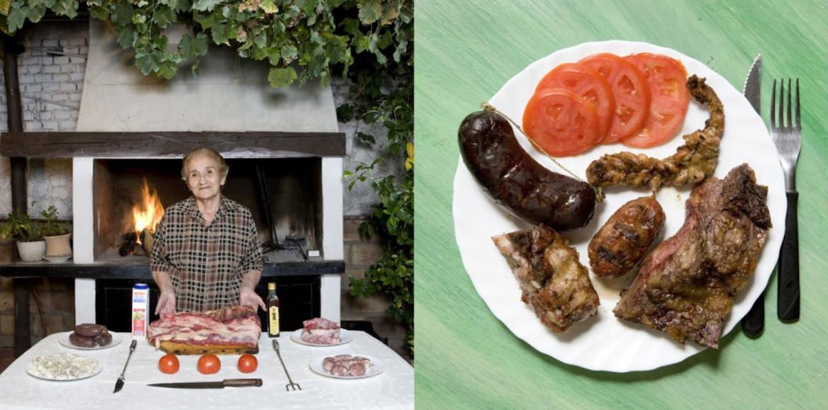 Galimberti, nonna cucina, Argentina