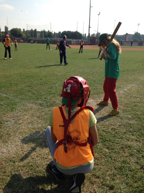 softball al campetto, foto di Giovanna Rosselli