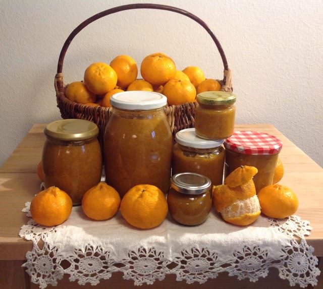 Fare la marmellata di mandarini - preparing tangerine marmalade
