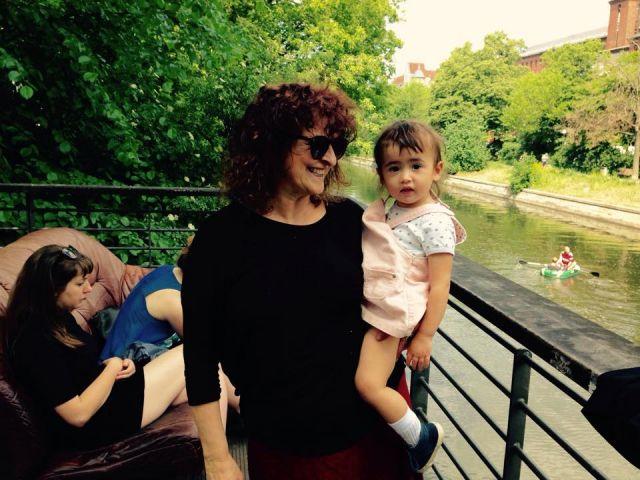 Io e Jimi, nonna e nipote a Berlino.