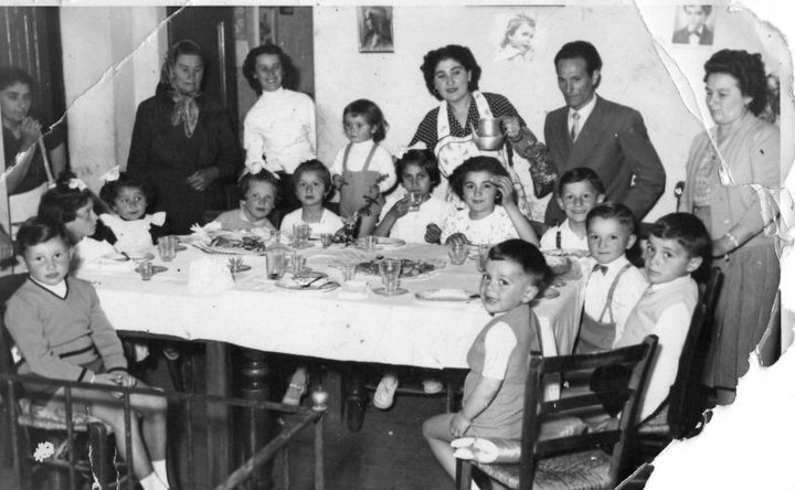 la famiglia di Rina Poletti