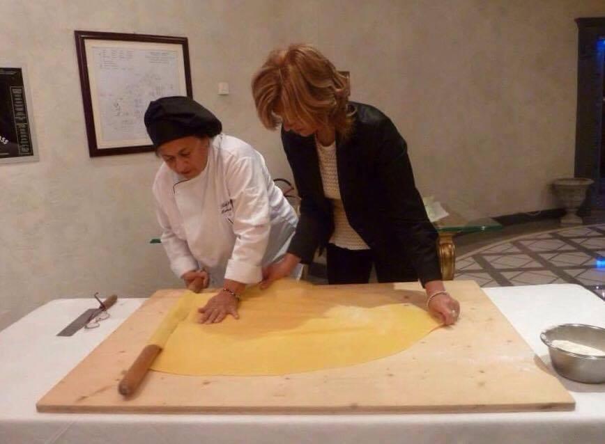 Rina, the maestro of pasta fresca