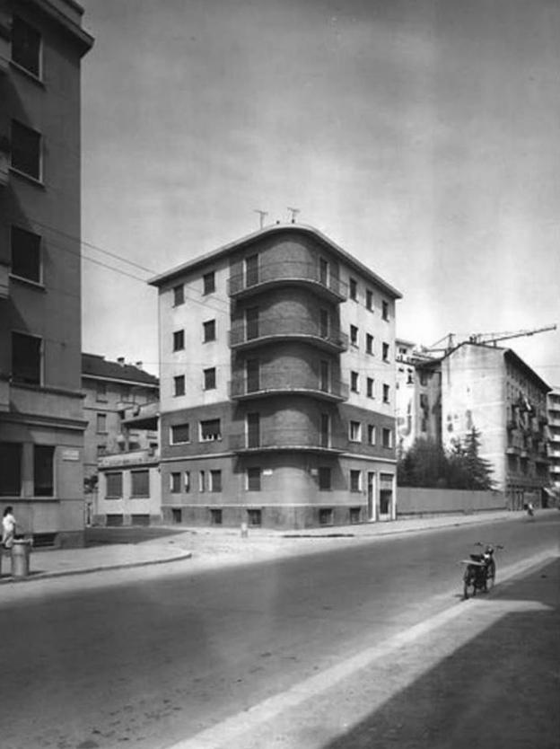 via Montegeneroso 35, anni Cinquanta
