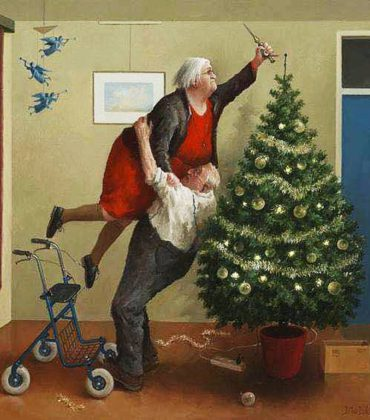 Una questione seria: l'albero di Natale