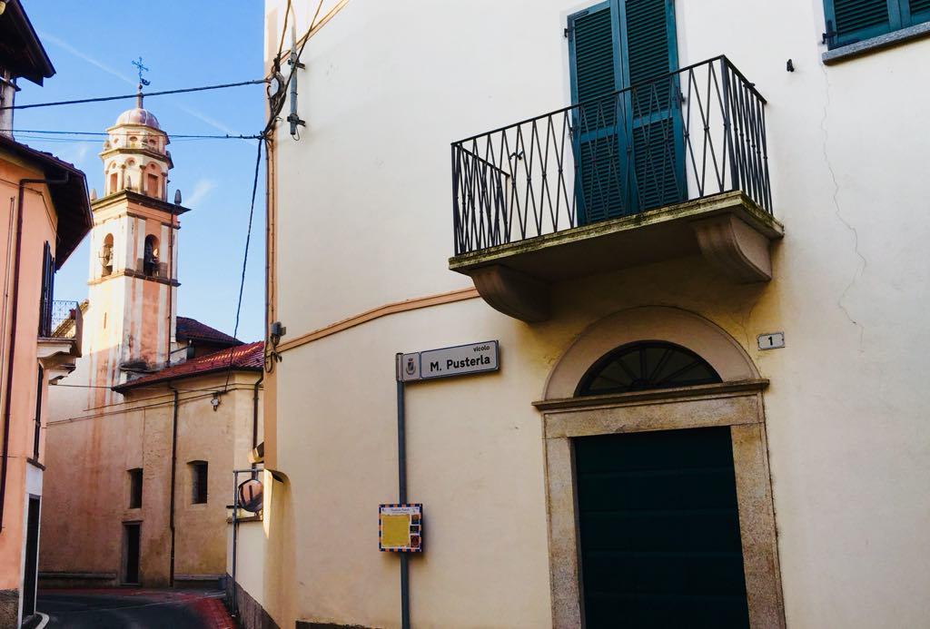 vicolo Margherita Pusterla, a Invorio, in provincia di Novara