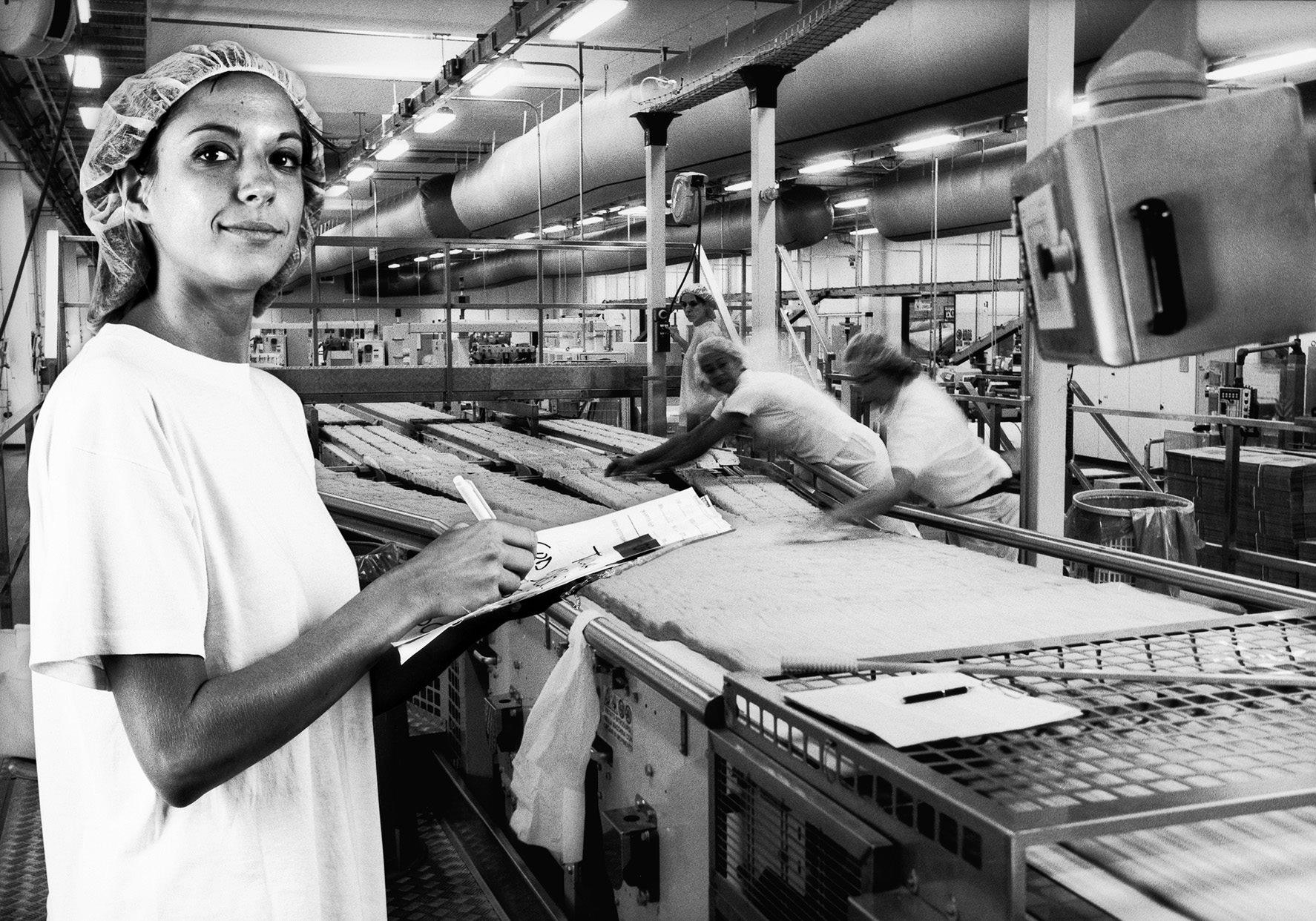 lavoratrici SAIWA -foto Paolo Sacchi -parità di genere