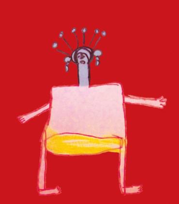 Da vicino nessuno è normale: un cappuccetto rosso senegalese