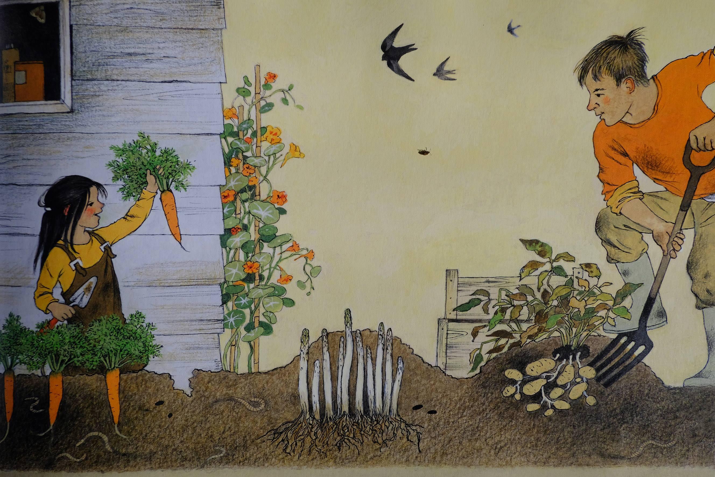 Gerda Muller libro sull'orto amico giardiniere