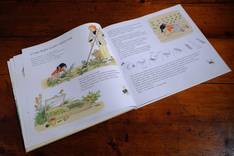 Gerda Muller libro sull'orto doppia pagina