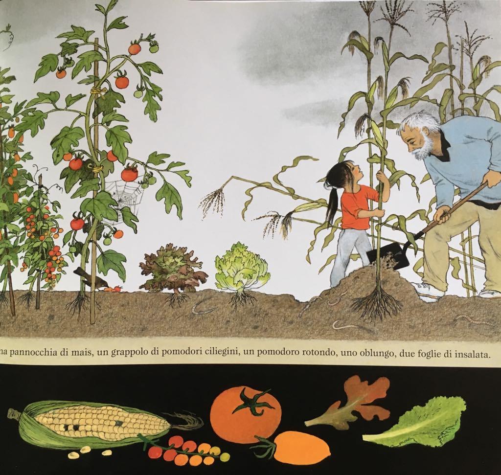 Gerda Muller libro sull'orto nonno e Sofia