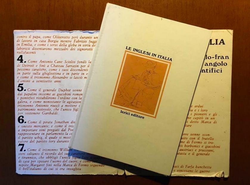 Le inglesi in Italia, copertina e sopracopertina - Joyce Lussu