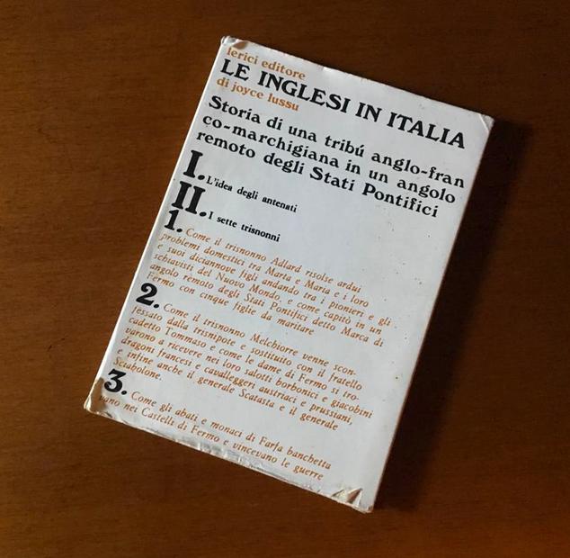 Le inglesi in Italia, copertina - Joyce Lussu