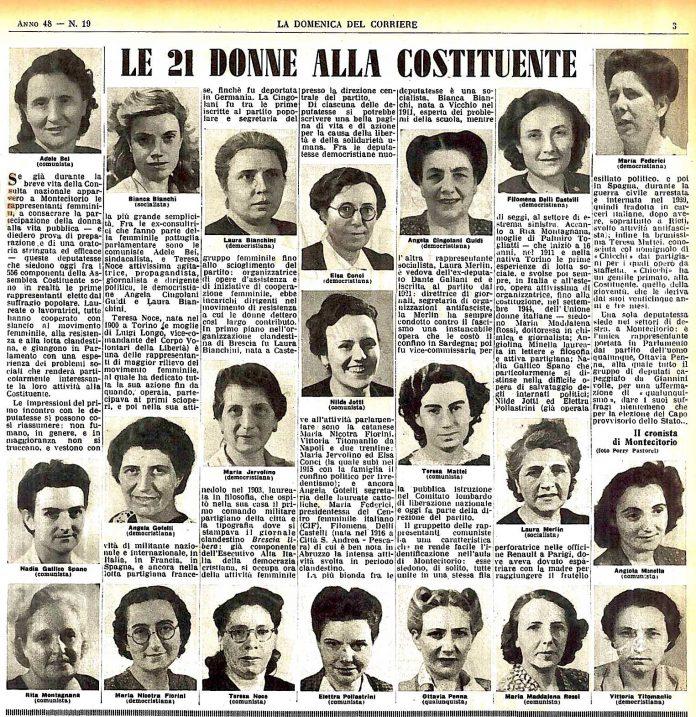 Donne della Costituente