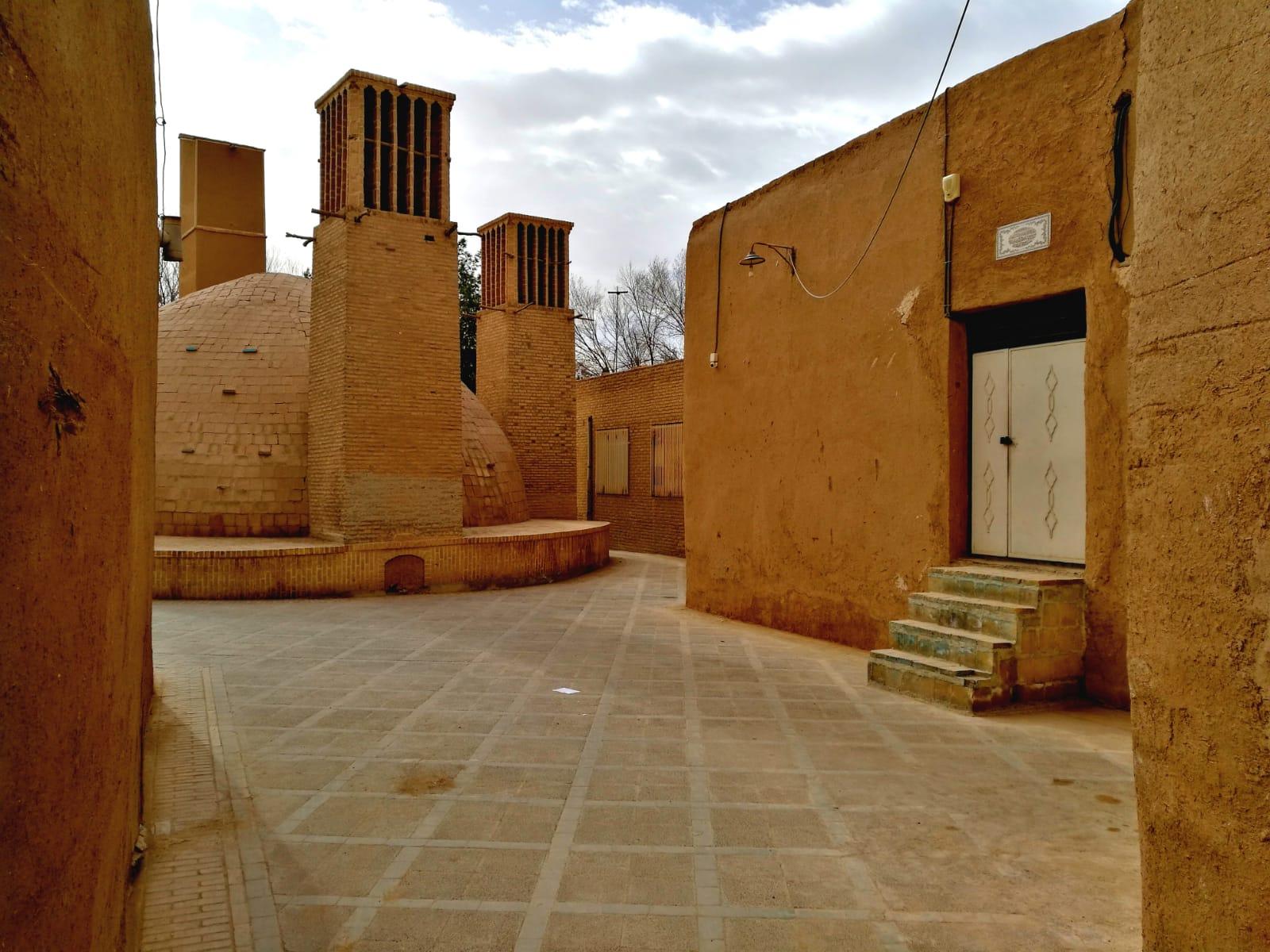Yazd, torri del vento