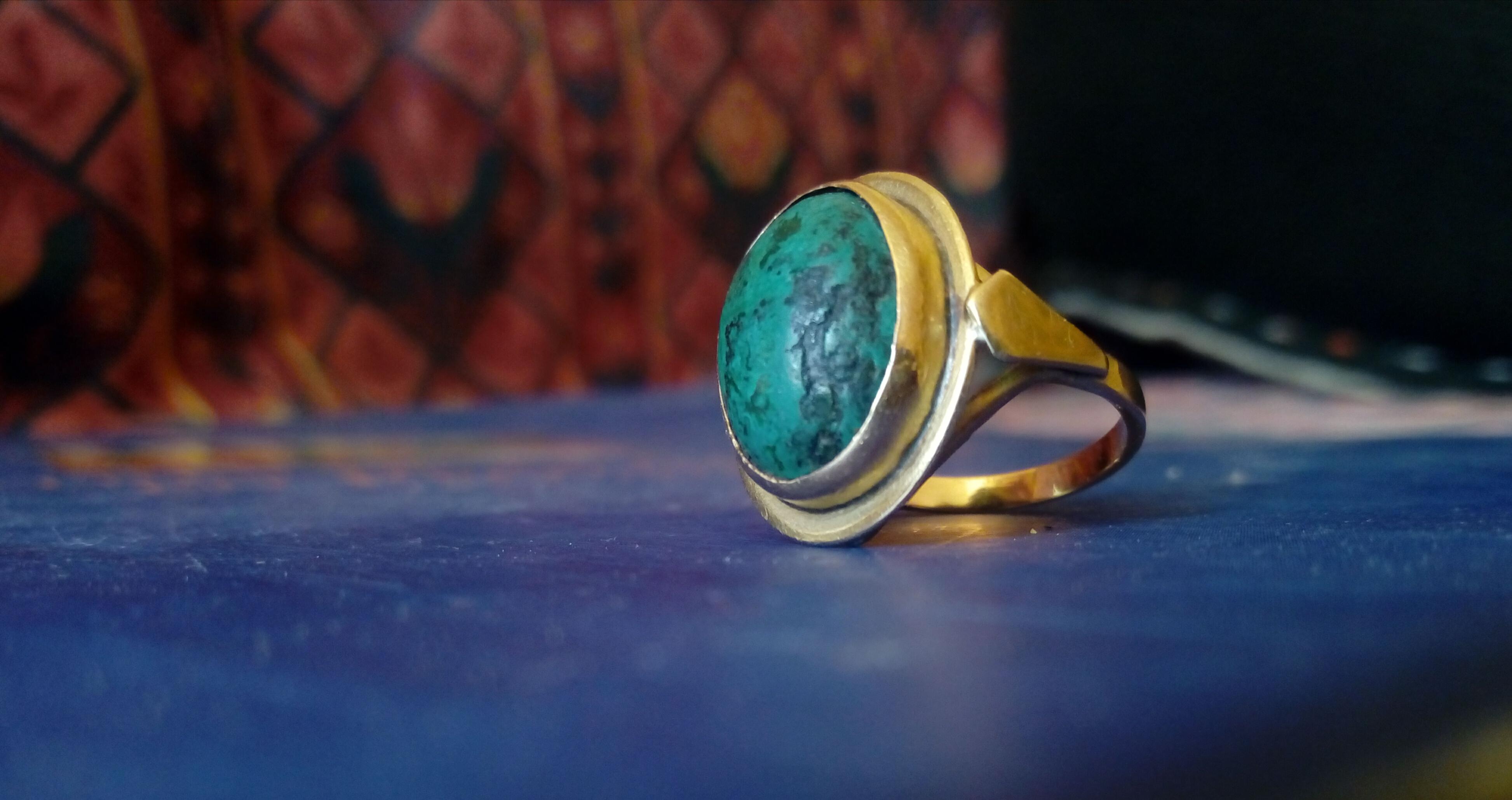 anello di malachite di nonna Giovannina