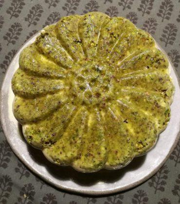 Il semifreddo di vaniglia e pistacchi