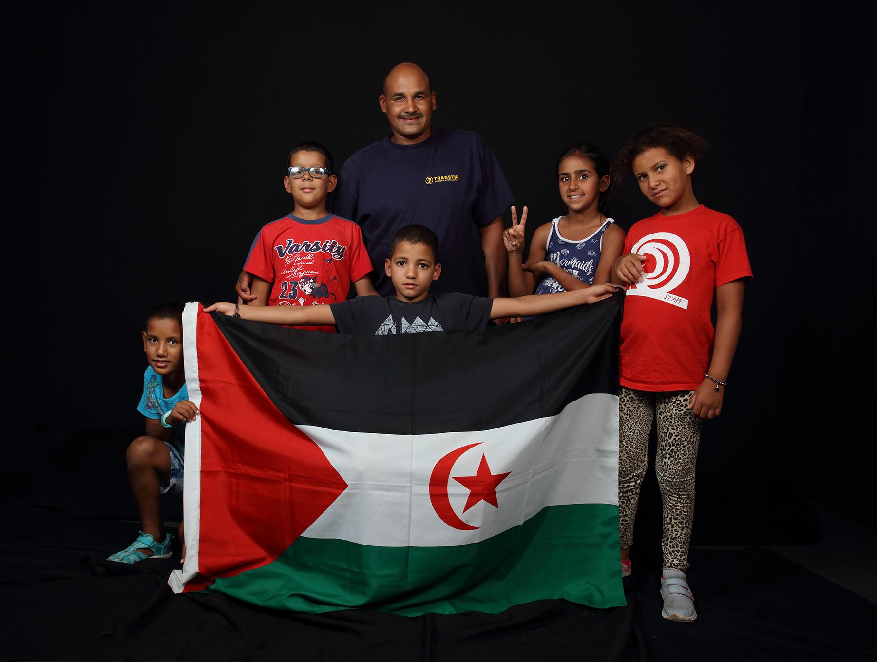 bamnini e Mohamed (Repubblica Saharawi)