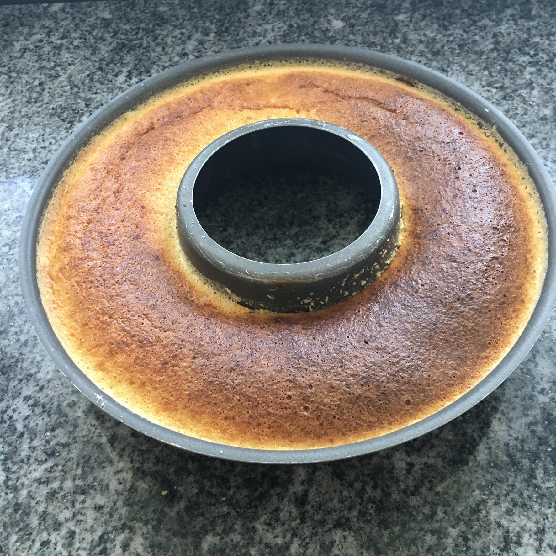 flan di cocco cotto