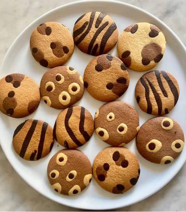 Frollini con la pelliccia: i biscottini animalier