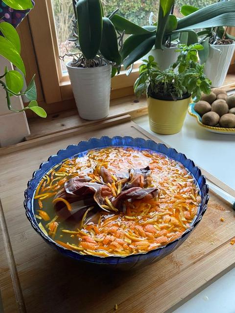 ricetta marmellata arance: tutti gli ingredienti nel recipiente di vetro