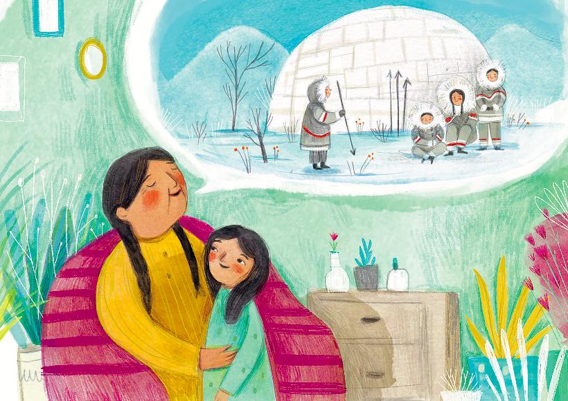 """Illustrazione di Ilaria Zanellato per """"Possiamo cambiare il mondo"""""""