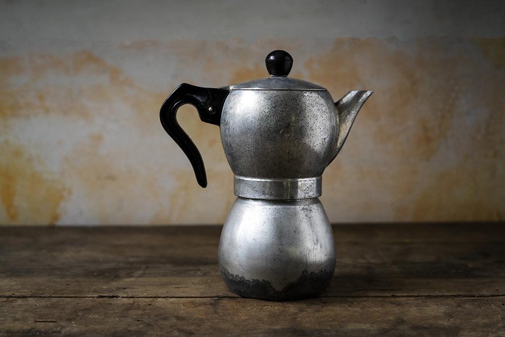 Caffettiera, foto marco del comune